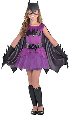 quick shop girls purple batgirl costume batman - Gir Halloween Costumes