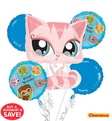 Littlest Pet Shop Balloon Bouquet 5pc