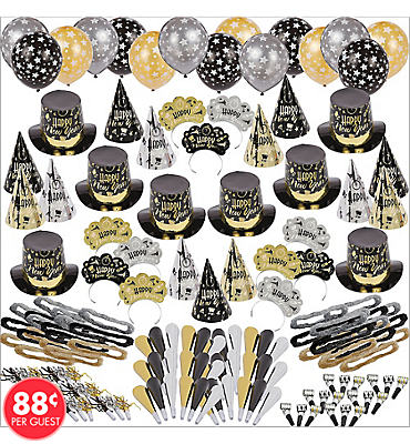 Black Tie Affair New Years Party Kit For 300