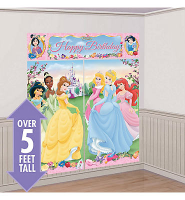 Disney Princess Scene Setters 5pc