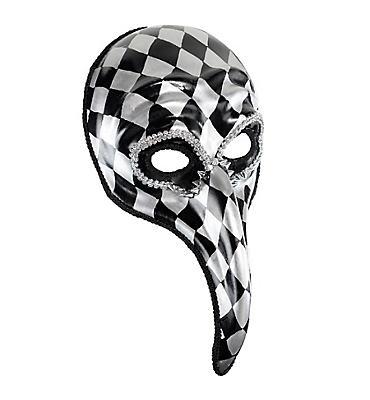 Harlequin Long Nose Mask