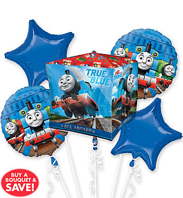 Thomas the Tank Engine Balloon Bouquet 5pc - Orbz