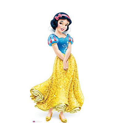 Snow White Life-Size Cardboard Cutout