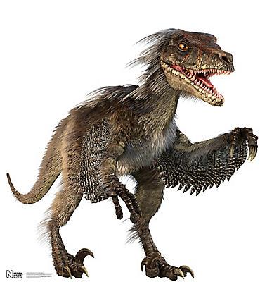 Velociraptor Life-Size Cardboard Cutout