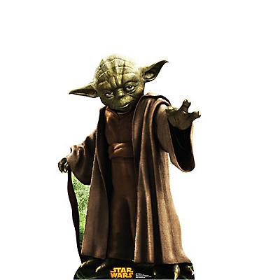 Yoda Life-Size Cardboard Cutout - Star Wars