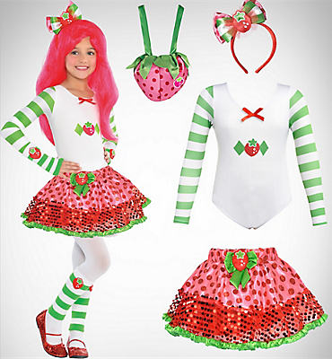 Girls' Strawberry Shortcake