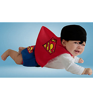Baby Diaper Cover Superman Costume - Classic Superman