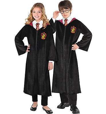 Child Gryffindor Robe Deluxe - Harry Potter