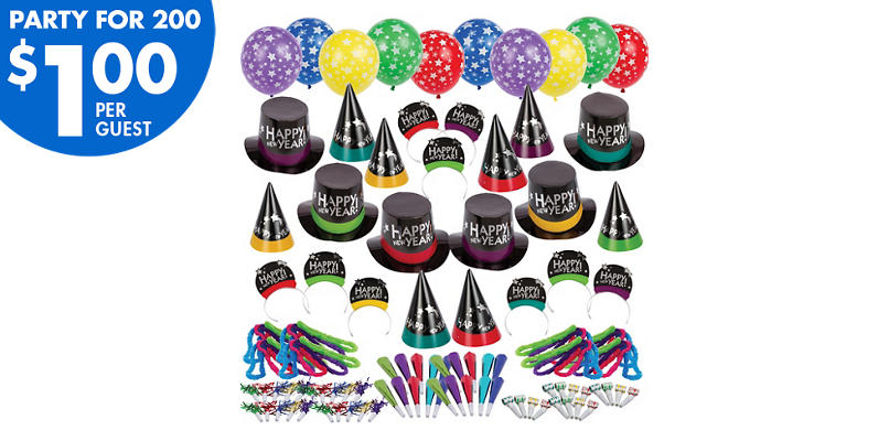Kit For 200 - Not So Simply Stated New Years Party Kit