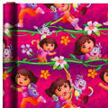 Dora the Explorer Gift Wrap
