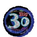 30th Birthday Balloon - Round Oh No!