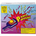 Champagne Party Poppers Box 72ct