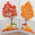 Autumn Trees Scene Setters 2ct