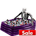 Inflatable Skeleton Cooler 43in