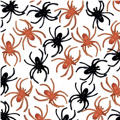 Black and Orange Spider Ring Value Pack 125ct