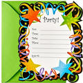 Let's Celebrate Invitations 20ct
