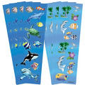 Under the Sea Stickers 8 Sheets