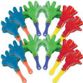Mini Hand Clappers 12ct