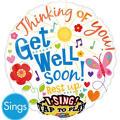 Get Well Balloon - Singing