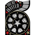 Hollywood Party Invitations 8ct