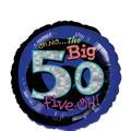 50th Birthday Balloon - Round Oh No!