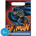 Batman Favor Bags 8ct