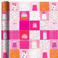Jumbo Pink Present Birthday Gift Wrap
