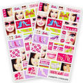 Barbie Stickers 2 Sheets