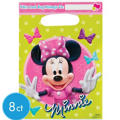 Minnie Mouse Favor Bags 8ct