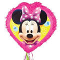 Pull String Minnie Mouse Pinata 18in