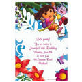 Dora the Explorer Custom Invitation