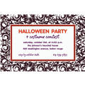 Shocktails Halloween Custom Invitation
