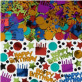 Dots and Stripes Birthday Confetti 2 1/2oz