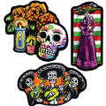 Day of the Dead Cutouts 3ct