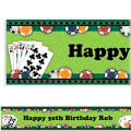 Poker Party Custom Banner 6ft