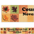Autumn Hues Custom Banner 6ft