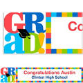Custom Bravo Grad Graduation Banner 6ft