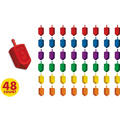 Hanukkah Dreidel Party Favors 48ct