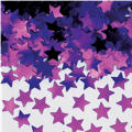 Mini Purple Star Confetti 0.25oz