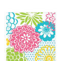 Floral Fireworks Lunch Napkins 16ct