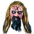Latex Rob Zombie Mask