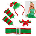 Adult Santa's Little Helper Costume Kit 5pc