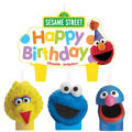 Sesame Street Candles 4ct
