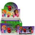Girls Red Tung Toos 30ct
