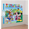 Mickey Mouse Scene Setter 5pc