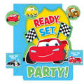 Cars 1st Birthday Invitations 8ct