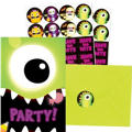 Boo Crew Halloween Invitations 20ct