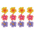 Hibiscus Cutouts 13in 12ct