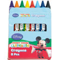 Mickey Mouse Crayons 8ct