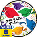 School's Out Graduation Lunch Plate 8ct
